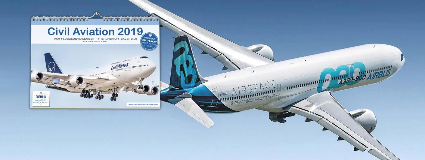 Kalender Flugzeuge 2019 Airbus A330neo