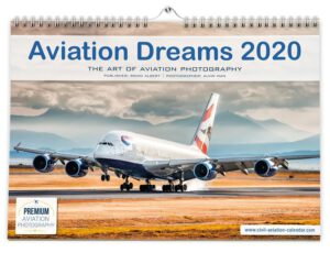 Aviation Dreams Flugzeugkalender 2020 - Airplane Calendar by Alvin Man