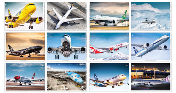 Order your Aviation Dreams 2020 aircraft calendar here